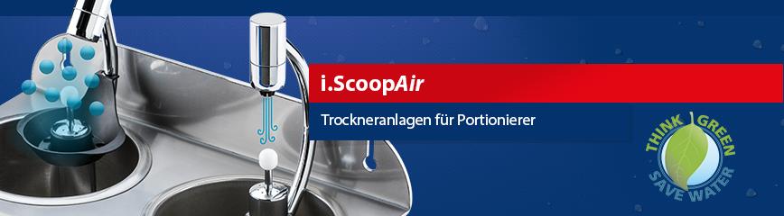 i.ScoopAir Silver PRESSURESTOP