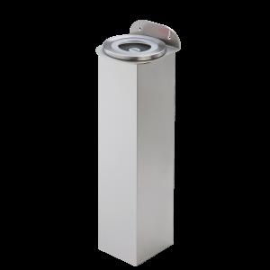 Lid dispenser plastic wall-mount stainless steel tube length 600 mm