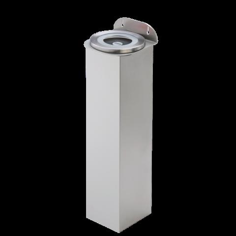 Deckelspender Kunststoff Wandmontage Edelstahl Röhrenlänge 600 mm